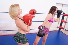 Liv & Violet's First Boxing Match: Part One