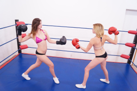 Liv & Violet's First Boxing Match: Part Three