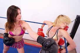 Liv & Violet's First Boxing Match: Part Two