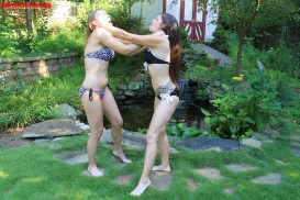 Pretty Pictures Sasha and AnneMarie have a little fight in a beautiful ...