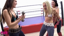 Becca's Brutal Belly Beatdown - 23