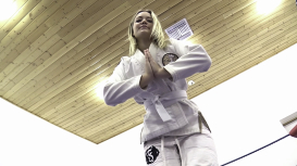 Becca, the Karate Cutie