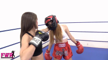 Jackie Meets Peyton in the Boxing Ring - 05