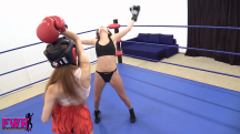 Jackie Meets Peyton in the Boxing Ring - 07