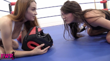 Jackie Meets Peyton in the Boxing Ring - 10