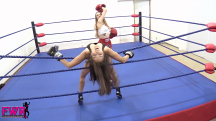 Jackie Meets Peyton in the Boxing Ring - 15