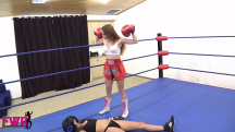 Jackie Meets Peyton in the Boxing Ring - 19