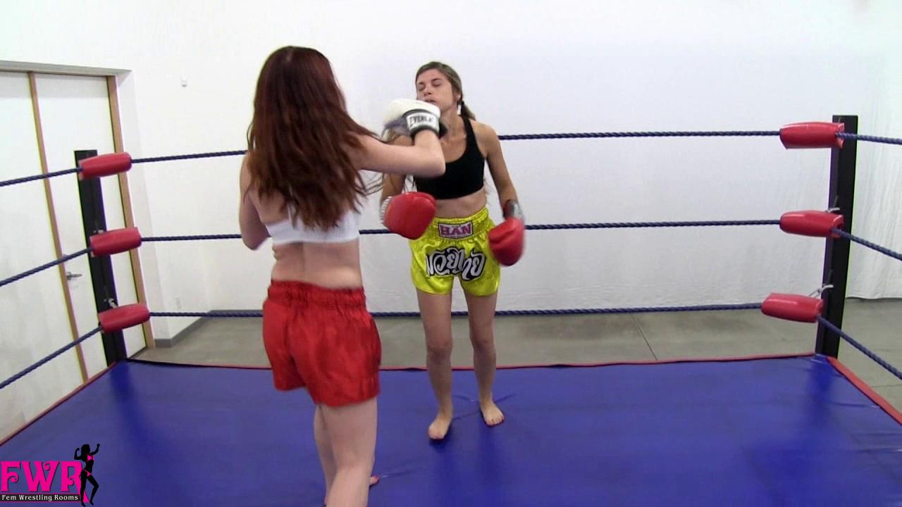 Knockout Boxers II - Fem Wrestling Rooms