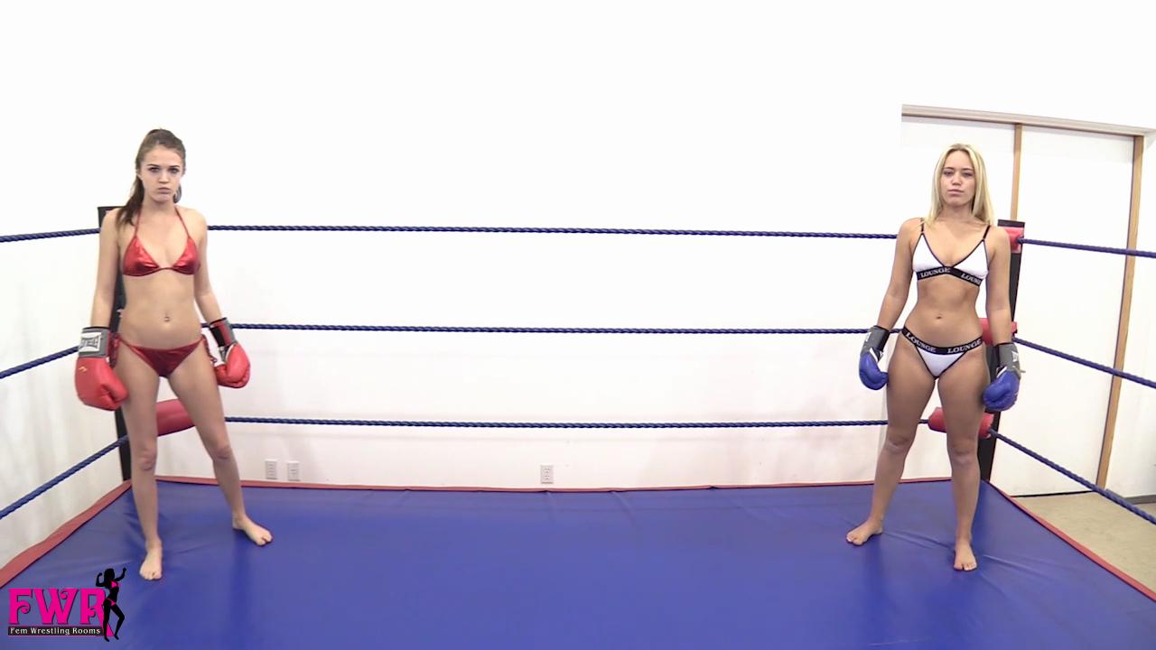 Bikini boxing knocked out knockout — img 10