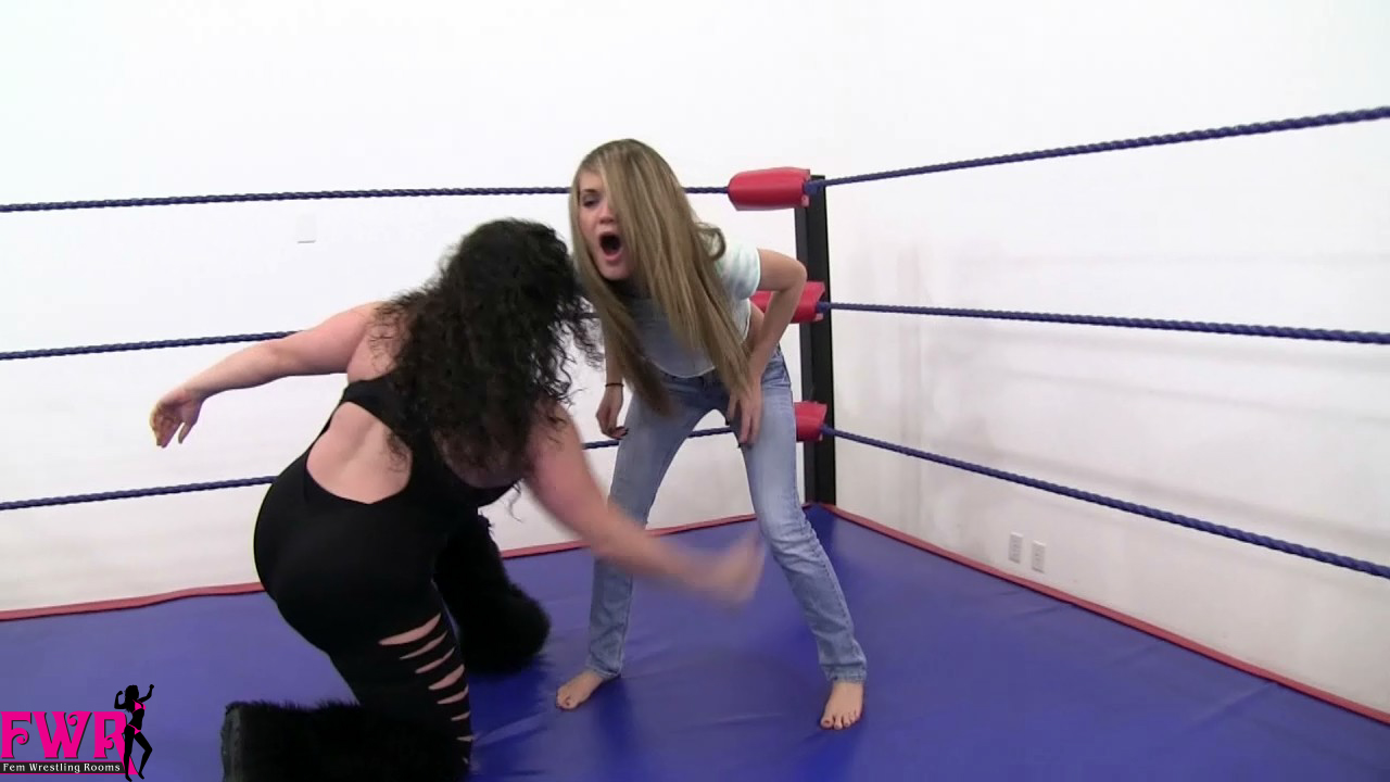 Belly punch domination girl vs girl real - 1 9
